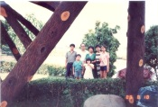 1989.8.18 放暑假返國,爸媽帶出去訪友旅遊。