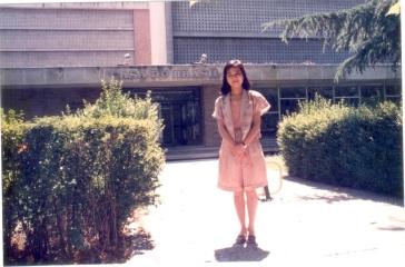 1989 年 8 月開始,我住進「巴西書院」,只有西語和葡語的生活。