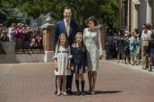 2014 繼承王位的 Felipe VI 家族(Photo Credit: Gtres)