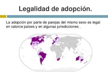 天主教國家西班牙 2005 年通過同性婚姻和同性家庭可領養小孩。