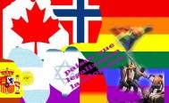 通過同性家庭認養小孩的國家。