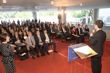 科技部全球事務與科學發展中心揭牌儀式