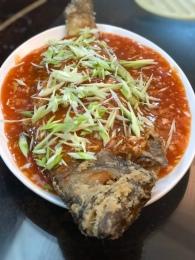 台南人最愛的料理:甜酸勾芡配炸魚