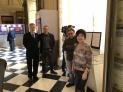 西班牙國家電視台攝影師與記者採訪