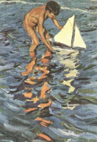 El balandrito (小帆船)