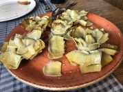 每回必點的青椒餐廳(El Pimiento Verde)的蓮花朝鮮薊