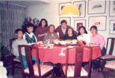 1991 年 在梁家聚餐