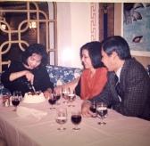 1990 年到餐廳慶生