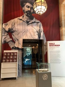紐約公共圖書館惠特曼兩百週年紀念展