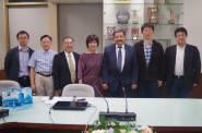 科威特工學院院長訪臺大(陳文章院長:左三)