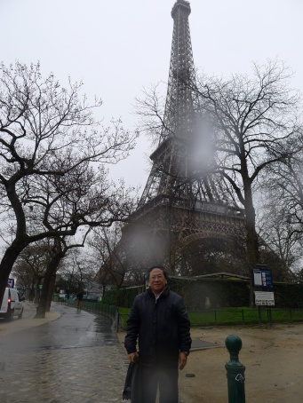2014 年冬日巴黎(雨濛濛,冷清清)張慶瑞教授
