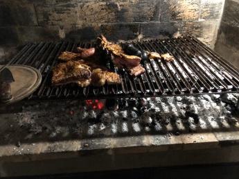 炭火餘溫的家庭烤肉