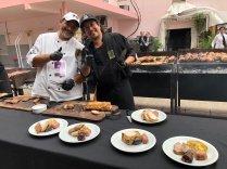 哥多華研討會午餐各式烤物供應