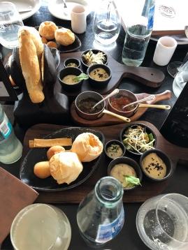 Las Lilas 餐廳前菜