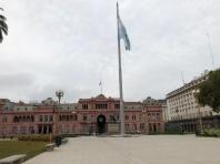 五月廣場上的總統府:玫瑰宮(Casa Rosada)