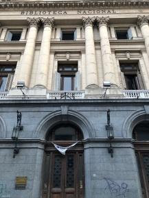 波赫士擔任館長 18 年的國家圖書館舊址
