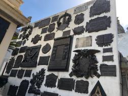 薩緬多總統墓地:各地向薩緬多總統致意碑文