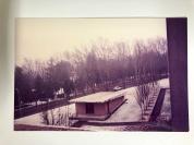 1991.02.16 房間窗外望雪景