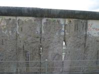 2012. 08. 26 刮除圖案的柏林圍牆