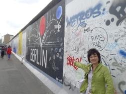2012. 08.27 觀光展示的柏林圍牆