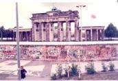 1989. 10. 01 柏林圍牆,眺望布蘭登堡