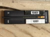 黑白兩款長方型補充替換橡皮擦