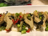花紅酒綠橄欖菜朝鮮薊