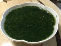 添加魩仔魚的麻薏湯