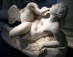 Leda 女神與天鵝 (Auguste Clésinger)