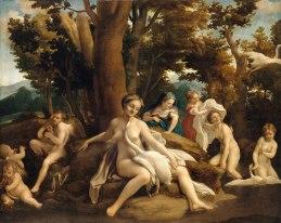 Leda 女神與天鵝 (Antonio Allegri da Correggio)