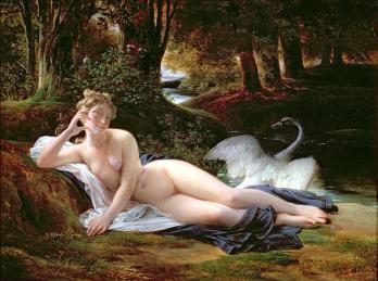 Leda 女神與天鵝 (François Edouard Picot)