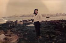1988 白色毛衣
