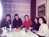 1990 米白毛海外套