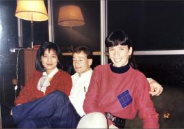 1991 紅色毛衣外套