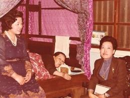 張家三娘:九甲鐵牛媽媽(左); 鐵娘子阿嬤(中間); 女包公大姑媽(右邊)