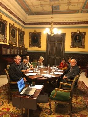 皇家學院分組討論