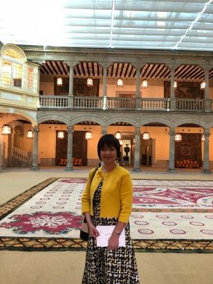 帕爾多皇宮中庭